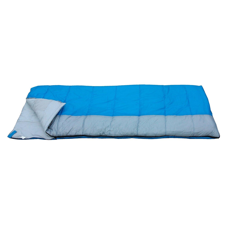 Redstone XL Double Sleeping Bag Converts into 2 Singles 400GSM 3-4 Season 210cm Length Camping Hiking