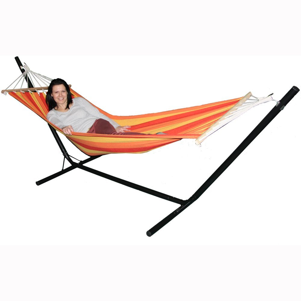 Redstone Luxury Hammock With Steel Stand
